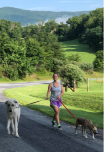 We're coming at you with another pet sitter spotlight this week. This time we're interviewing Courtney; read on to learn a little more about her and what makes her heart shine! What's your favorite animal and why? I love all animals so it's really hard to choose one favorite. I love dogs and do my best to spend time with one each and every day because they have a special way of lighting up even the gloomiest days, no matter the time or place. I also love the majesty of big wild animals like elephants and giraffes. What inspired you to become an animal lover? I've been around animals since the day I was born. My parents were close friends with the owners of a small business who curated conservation education shows for local school children so we always hand random animals (in addition to our own cats and dogs) running around the house. We once had a tiger cub for a short stint. She was so small she could fit inside our mailbox! What do you do for fun aside from animal care? I love traveling, reading, hiking, and spending time with my friends and family. I'm a relatively laid back person and always love dinner with friends or cozying up with a glass of wine and a good book. If you had to pick one word that describes you, what would you choose and why? Reliable. I strive to be someone who is loyal and reliable no matter what curveballs are thrown my way. I have had some really solid, dependable people in my life so I try to emulate that support with my friends, family, coworkers and pet sitting clients. What's your ideal vacation? I've always dreamed of traveling to India. I would love to meet people, try yummy food, and learn about the rich culture across the country. I always try to meet people and see their home through their eyes because that creates the most authentic learning experience.